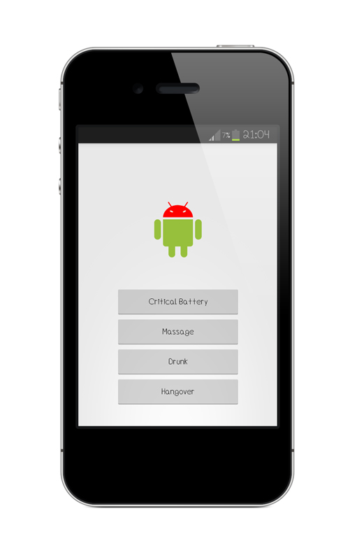 Mobile App Character Design : Sir droid the mobile app with character st design